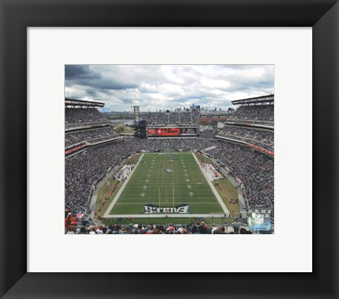 Framed Lincoln Financial Field 2011 Print
