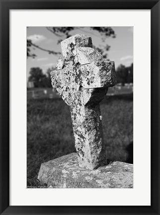 Framed Old Stone II Print