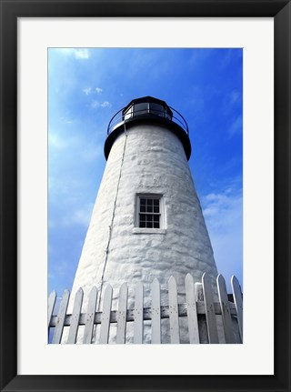 Framed Pemaquid Lighthouse Print
