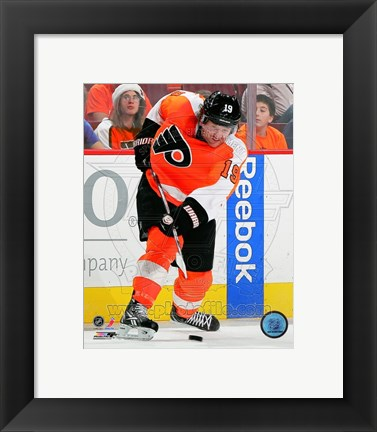 Framed Scott Hartnell 2011-12 Action Print