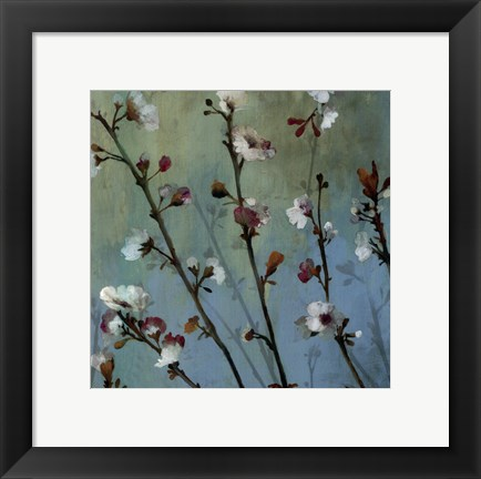 Framed Wind Blossoms I - mini Print