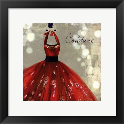 Framed Couture - mini Print