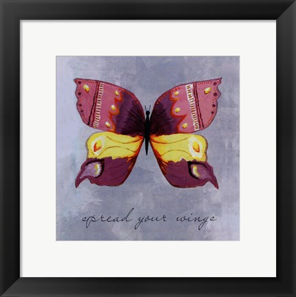 Framed Spread your wings -mini Print