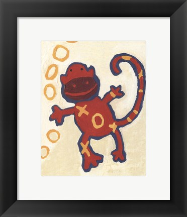 Framed Monkey - mini Print