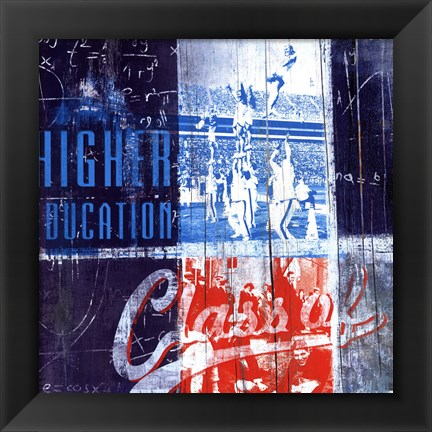 Framed Higher Education - mini Print