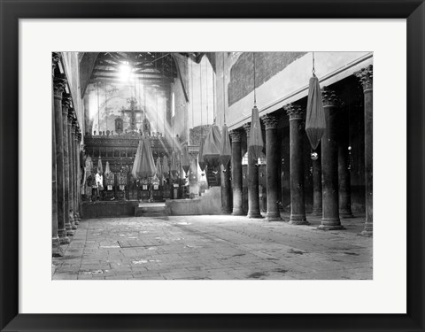 Framed Bethlehem Church of Nativity Print