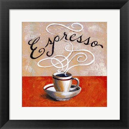 Framed Expresso - mini Print