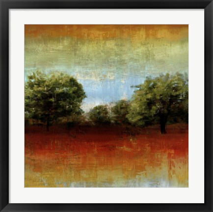 Framed All Aglow II Print