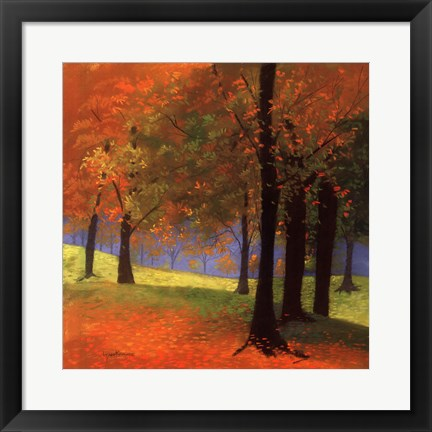 Framed Autumn Trees Print