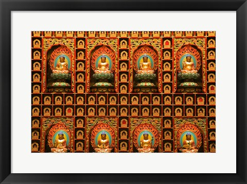 Framed Buddha Tooth Relic Temple and Museum, Singapore Print