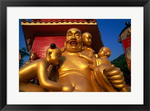 Framed Ten Thousand Buddhas Monastery Print