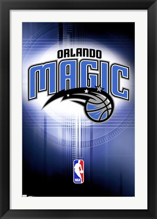 Framed Magic - Logo 10 Print