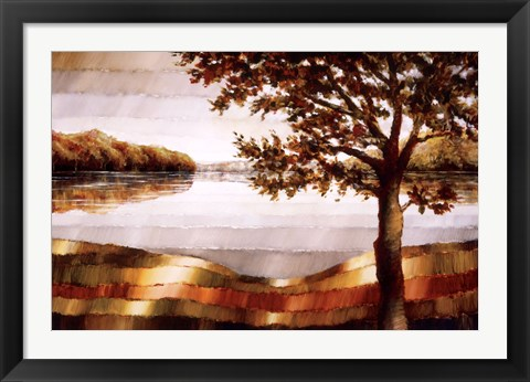 Framed Lake Mamry Print