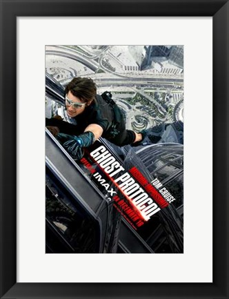 Framed Mission: Impossible - Ghost Protocol Movie Print