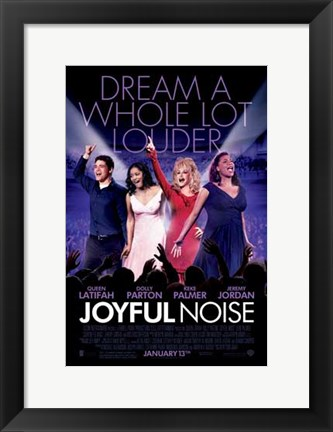 Framed Joyful Noise Print