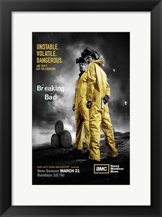 Framed Breaking Bad - unstable Print