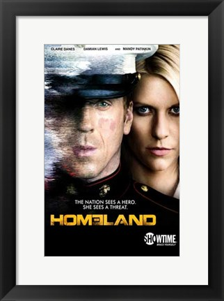 Framed Homeland Print