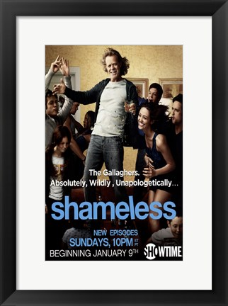 Framed Shameless Print
