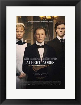 Framed Albert Nobbs Print