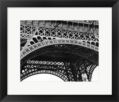 Framed Eiffel Tower III Print