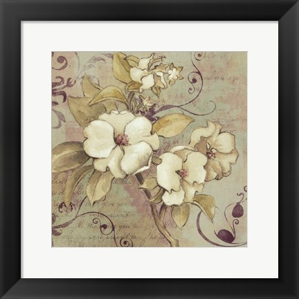 Framed Sweet Fragrance I Print