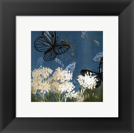 Framed Blue Day In May I Print