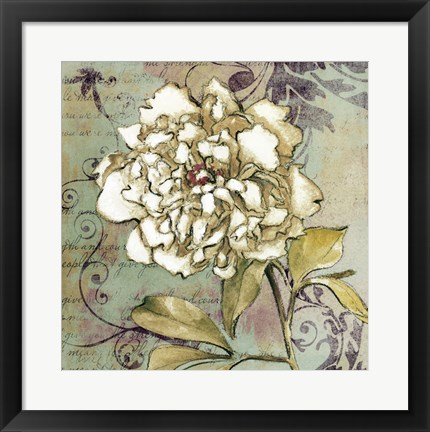 Framed Sweet Fragrance II Print