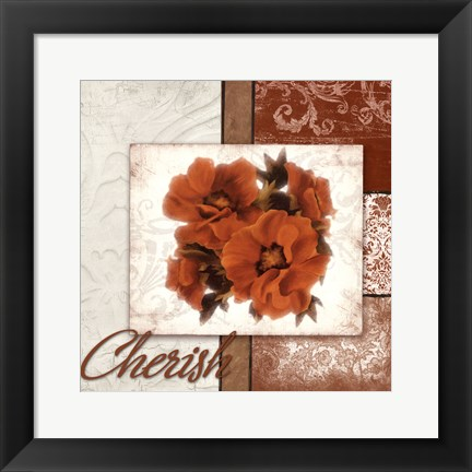 Framed Cherish Print