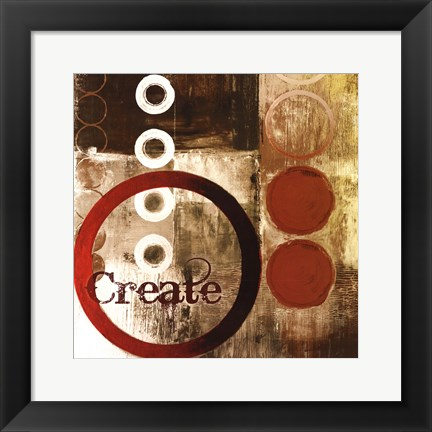 Framed Create Print