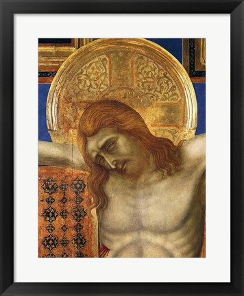 Framed Painted Cross Print