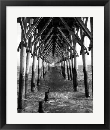 Framed By The Dock I Print