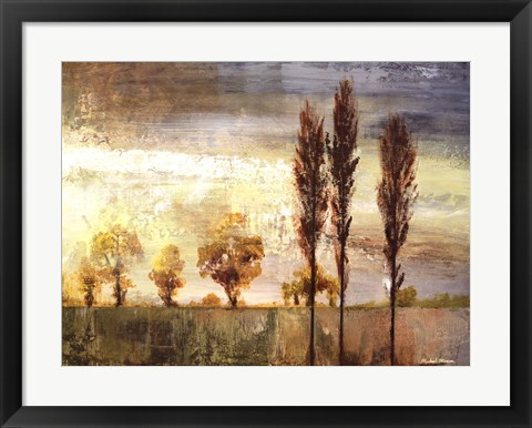 Framed Standing In The Wind II Print