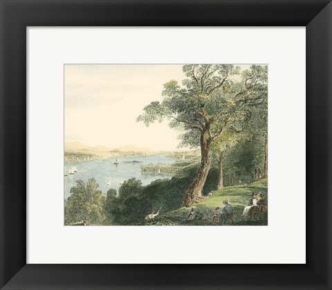Framed View from Hyde Park Print