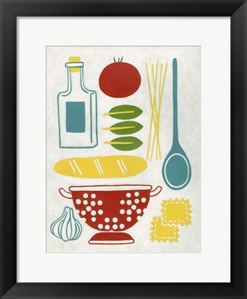 Framed Sunday Dinner Print