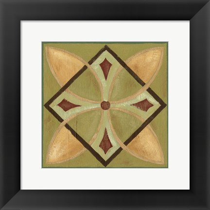 Framed Patchwork I Print