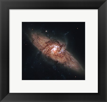 Framed Galactic Silhouettes Print