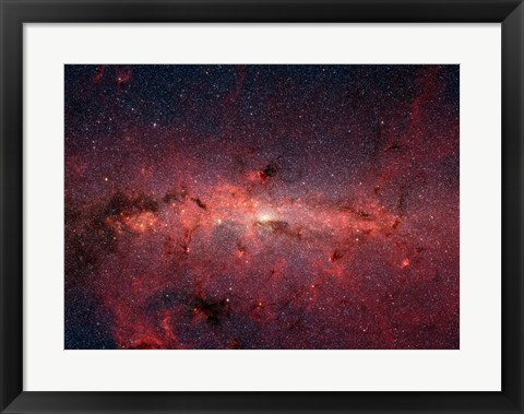 Framed Milky Way Galaxy Print