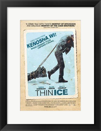 Framed Thin Ice Print
