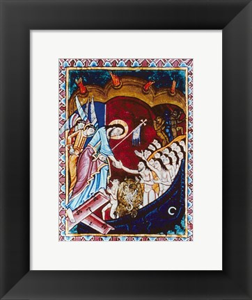 Framed Descent of Christ into Hades Print
