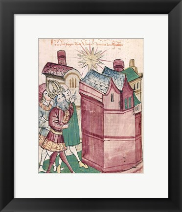 Framed Henry III Sees the New Star of the Town of Tivoli Print