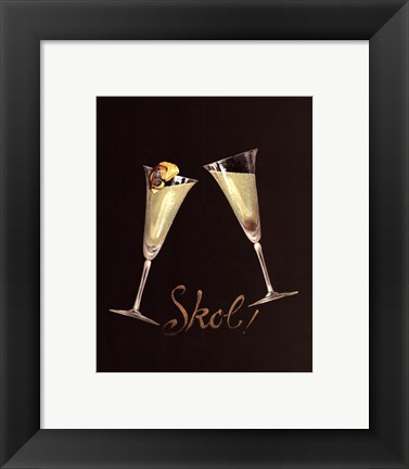 Framed Cheers III - Special Print