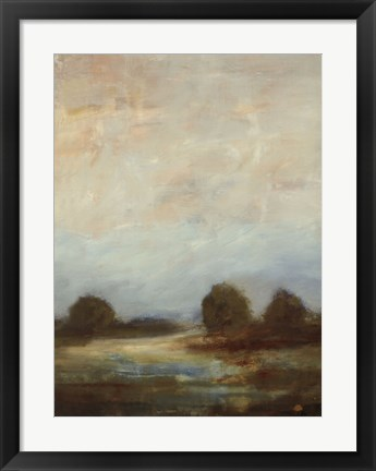 Framed Contemporary Vista I Print