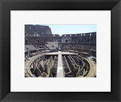 Framed Colosseum in Rome Print