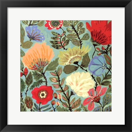 Framed Freedom Garden Print