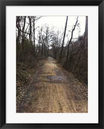 Framed Path Ahead Print