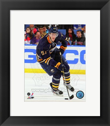 Framed Tyler Myers 2011-12 Action Print