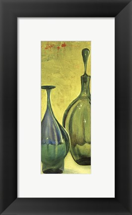 Framed Murano Glass Panel II Print
