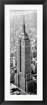 Framed Empire State Of Mind Print