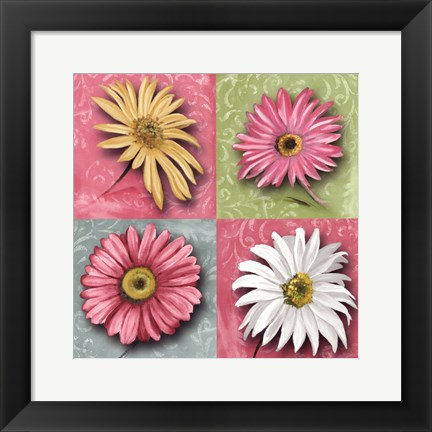 Framed Blooming Collection I Print