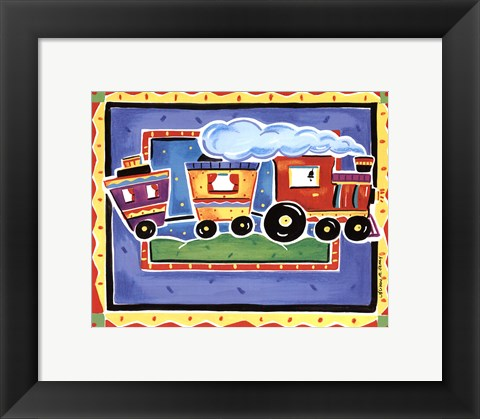 Framed Train Print